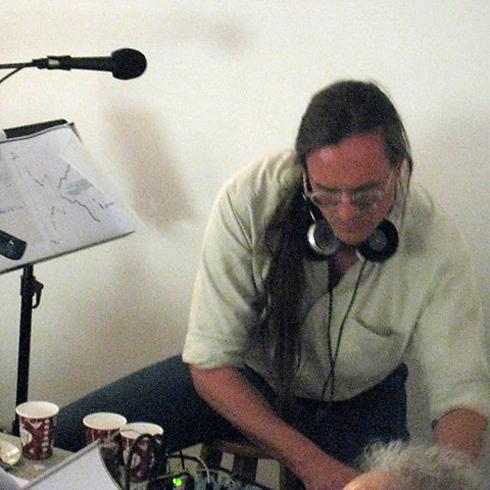 performing John Cage's Song Books w/Cornelius Cardew Choir (2010) Michael Zelner